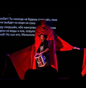 Iranian play 'Macbeth Zar' to open Azerbaijan Intl. Theater Fest.