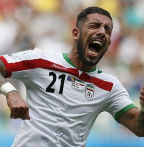 Ashkan Dejagah dreams big with Iran