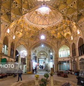 Persian Architecture in Photos: Bazaar of Qom