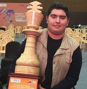Iranian GM Maghsoodloo wins Sharjah Masters Chess