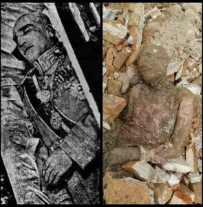 The mummified shah: From rumors to facts