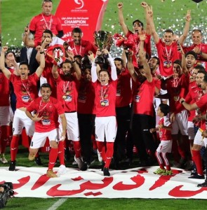 Persepolis Lifts the IPL Title Trophy