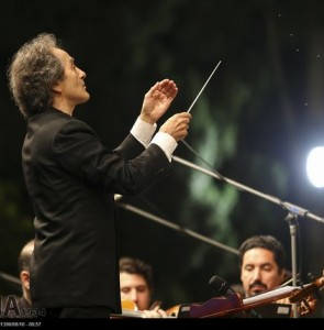 Conductor Rohani to use new compositions for Iran's concerts in Russia