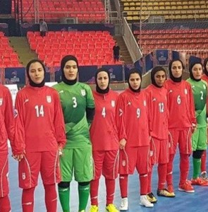 Iran to meet Japan in AFC Women's Futsal Championship final