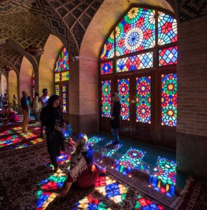 Nasir ol-Molk a mosque of whirling colors in southern Iran