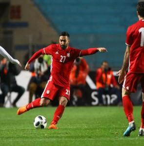 Saman Ghoddos proud to play for Iran national football team