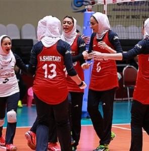 Iranian girls defeat Macau at Asian volleyball C'ships