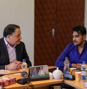 Bangladeshi producer Ananta Jalil, Farabi director meet in Tehran