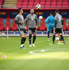 Mehr News Agency - Iran, Spain training session before Wed. match