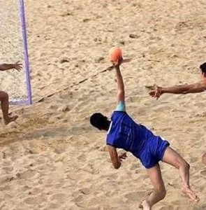 Iran beat Uruguay in Beach Handball World C'ships