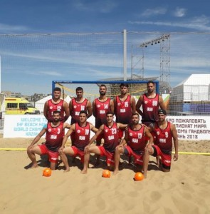 Iran to play Sweden in Beach Handball World C'ship quarters