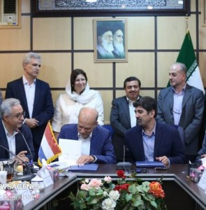 Mehr News Agency - Iran, the Netherlands ink MoU on food safety