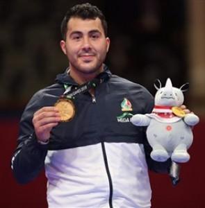 Sajjad Ganjzadeh Wins Iran's 14th Gold Medal at Asian Games