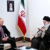 Iran's Leader calls for Russia's coop. in containing US