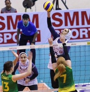 Unbeaten Iran sweeps Australia at AVC Women's Cup