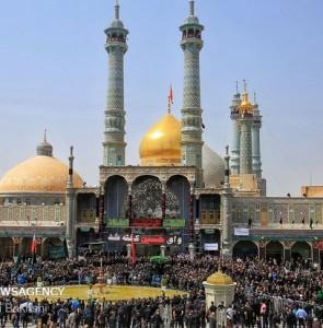Mehr News Agency - Hazrat Masoumeh (SA) Mausoleum hosts Ashura Day mourning ceremony