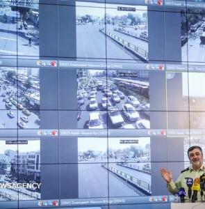 Mehr News Agency - Inauguration of smart traffic control center in Tehran