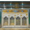 A new chamber tomb installed at Imam Hossein's shrine in Karbala