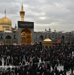 Mehr News Agency - Demise anniv. of Prophet Muhammad in holy shrine of Imam Reza (AS)