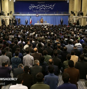 Mehr News Agency - Meeting of Leader with Iranian elites