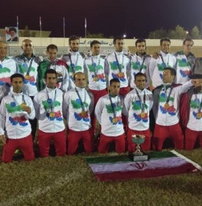 Iran crowned IFCPF Asia-Oceania champions