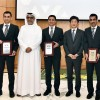 Sheikh Salman hands out 'AFC Referees Special Award' to Iranian referees