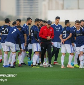 Mehr News Agency - Team Melli's training session