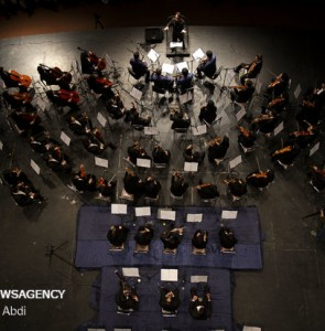 Mehr News Agency - Tabriz Philharmonic Orchestra concert