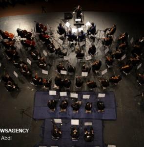 Mehr News Agency - Tabriz Philharmonic Orchestra concert