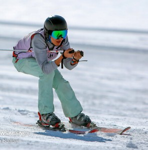 Mehr News Agency - 7th Fajr Ski and Snowboard Competition