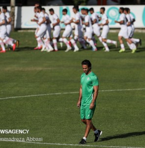 Mehr News Agency - Iran U23 football team first training under Majidi