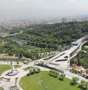 Tehran's Honar Lake, Garden ready for inauguration