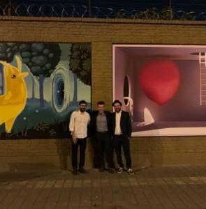 """""""The Urban Art"""" begins to build bridge between Iran, Italy"""