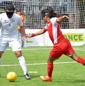 Iran into IBSA Blind Football Asian C'ships semis