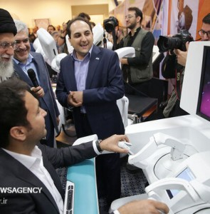 Mehr News Agency - Leader's visit to exhibition of knowledge-based firms