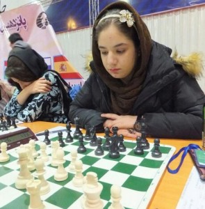 Iranian girl Mahdian wins bronze at World Youth Chess C'ship