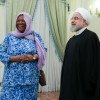 Rouhani hopes S. Africa will adopt a firmer stance against anti-Iran US sanctions