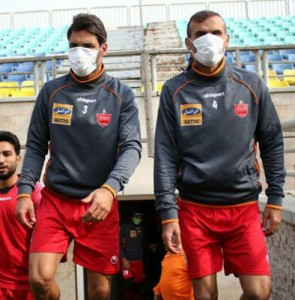 Tehran's football matches postponed as air pollution soars