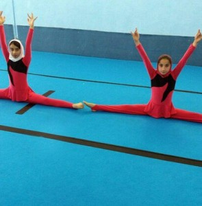 Iranian female gymnasts allowed to wear hijab in international events