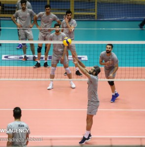 Mehr News Agency - Iranian volleyball team holds training session
