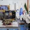 Mehr News Agency - Delivering ceremony for Zafar 1, 2 satellites
