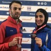 Iran win two gold medals at Karate 1-Premier League Paris