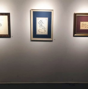 "Persian calligraphy works sell like hot cakes at ""Dot"" exhibit"