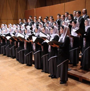 "Tehran Choir video featuring John Rutter's ""For the Beauty of Earth"" released"