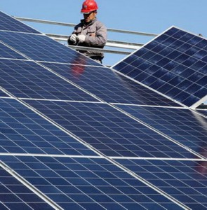 Iran's 1st floating solar power plant inaugurated