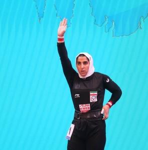 Woman weightlifter Hosseini undergoes surgery