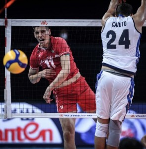 Iran victorious over Italy in 2021 VNL