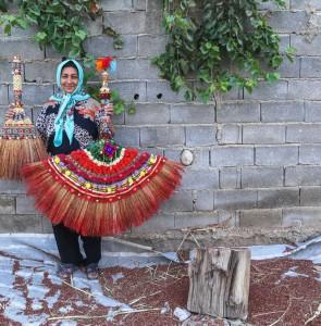 Mehr News Agency - Traditional broom making in Khorasan