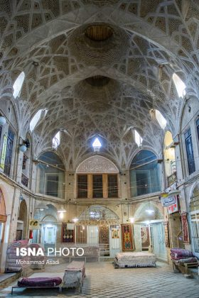Persian Architecture in Photos: Bazaar of Arak