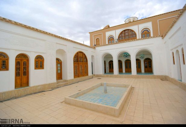 Haj-Agha Ali House; Historic Masterpiece in Heart of Iranian Deserts